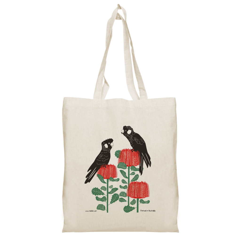 Carnaby on Banksia Tote Bag