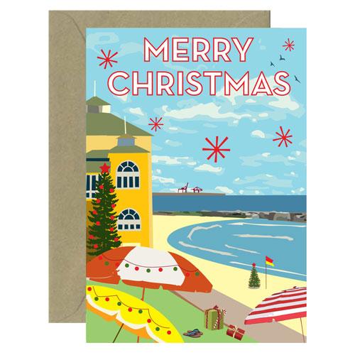 Christmas Cottesloe Card
