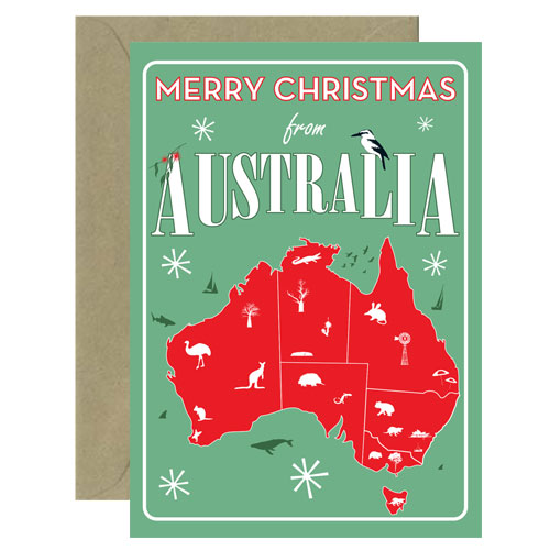 Christmas Australia Card