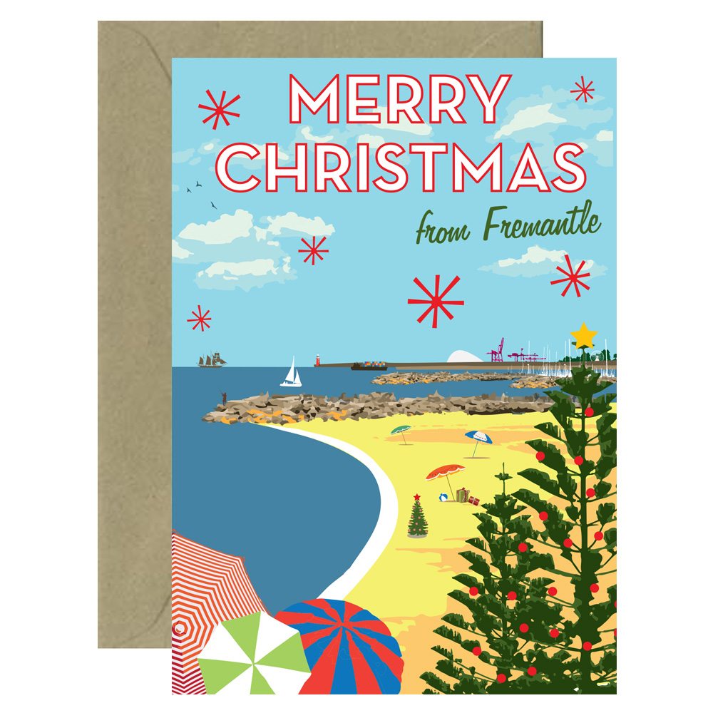 Christmas Fremantle Card