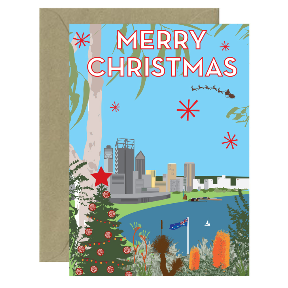 Christmas Perth Card