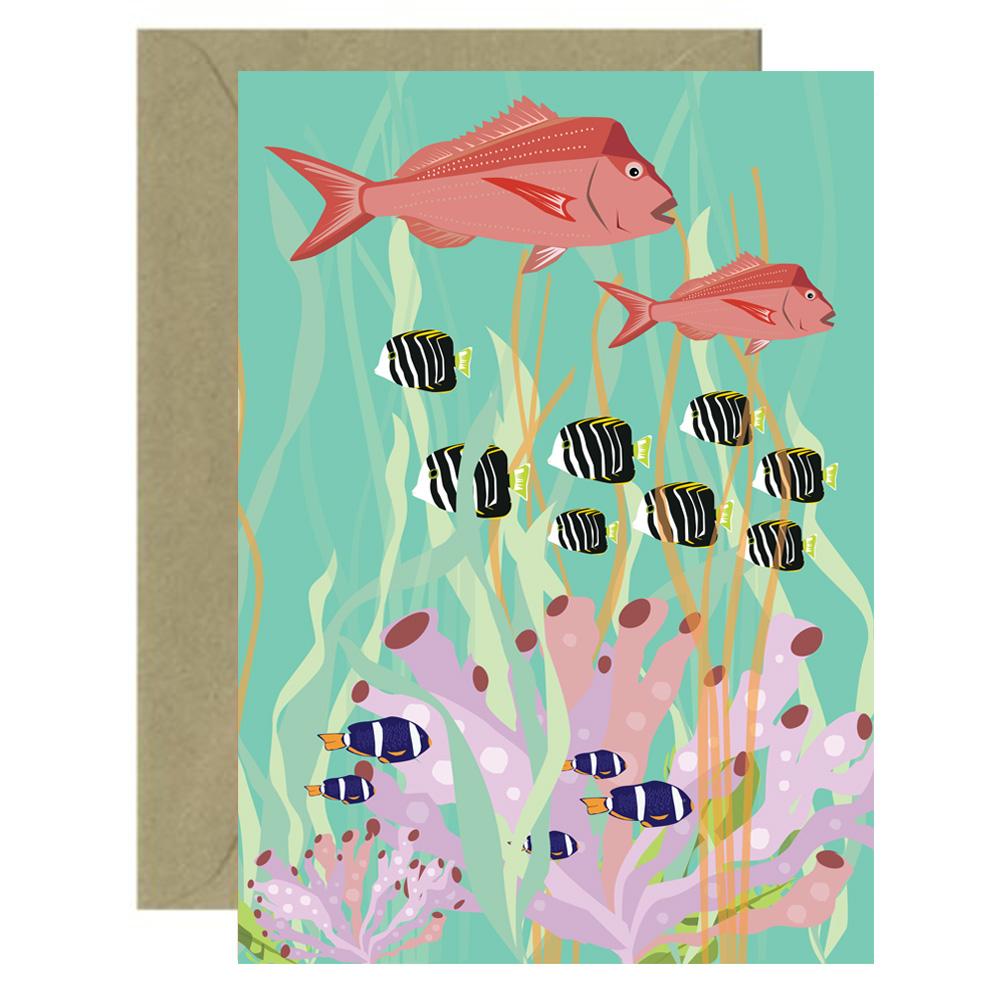 Green Reef Card