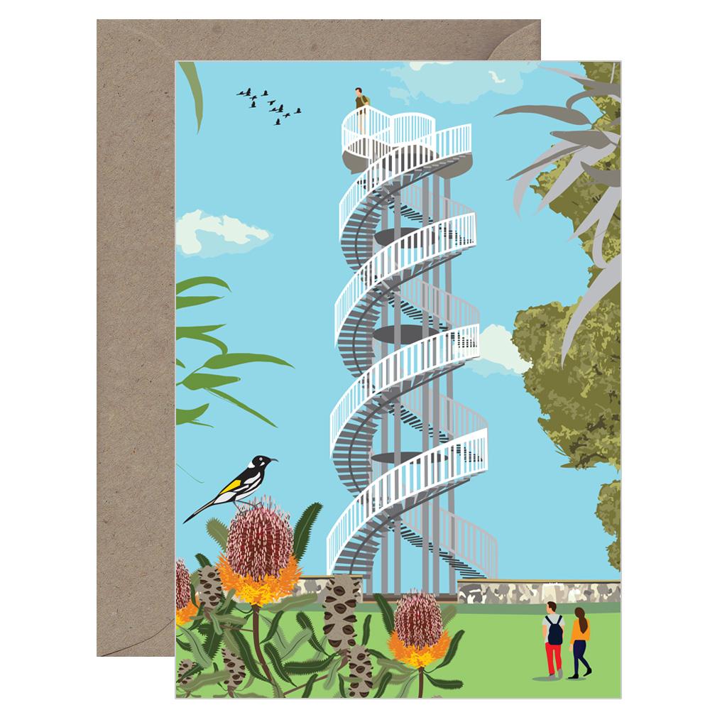 Vintage Kings Park DNA Tower Card