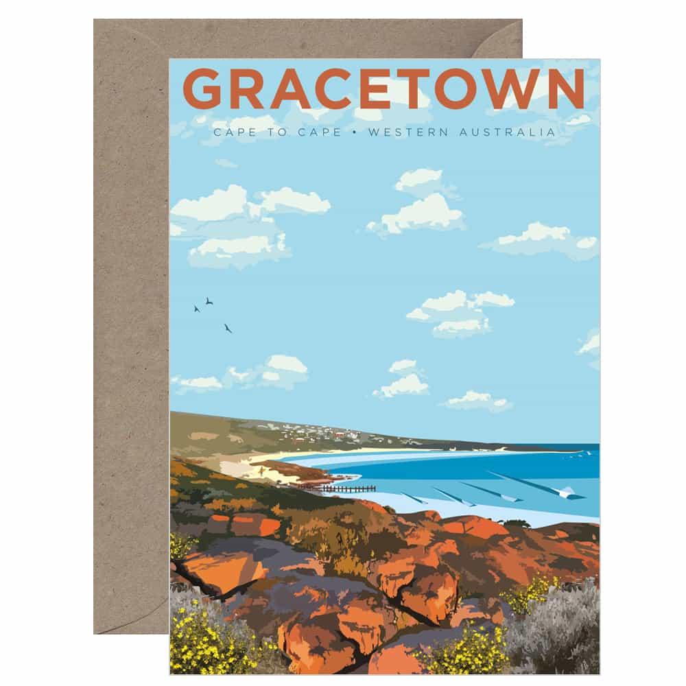 Vintage Gracetown Card