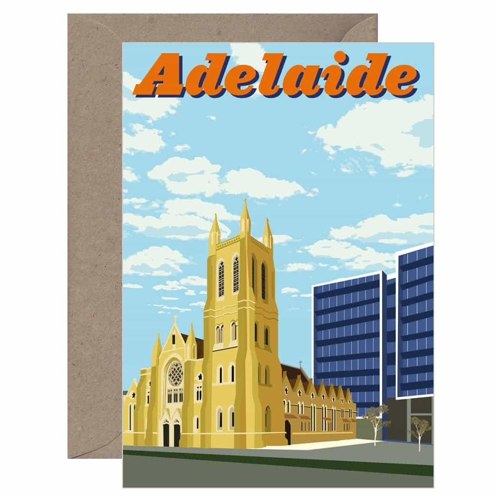 Vintage Adelaide Card