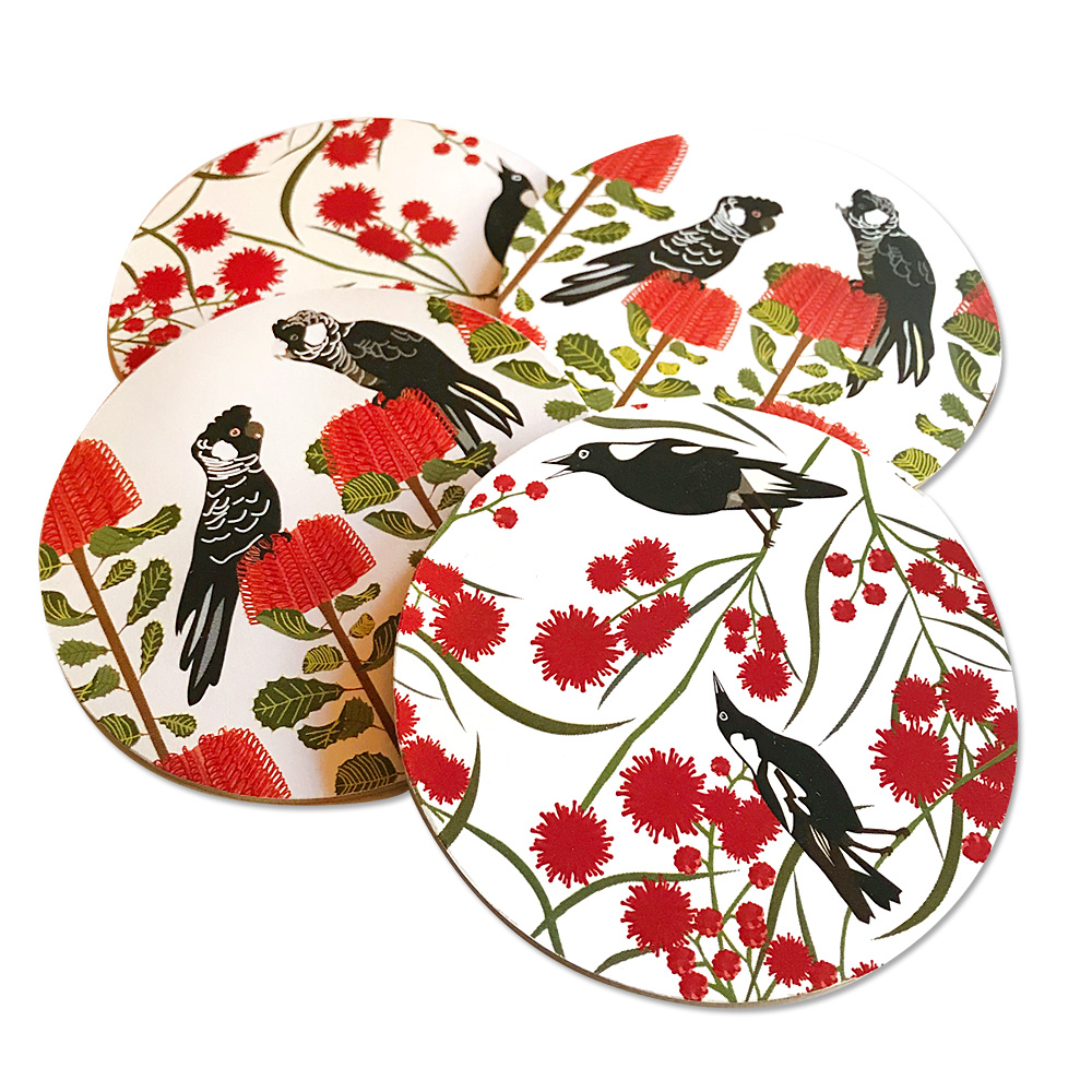 Carnaby Magpie Coasters