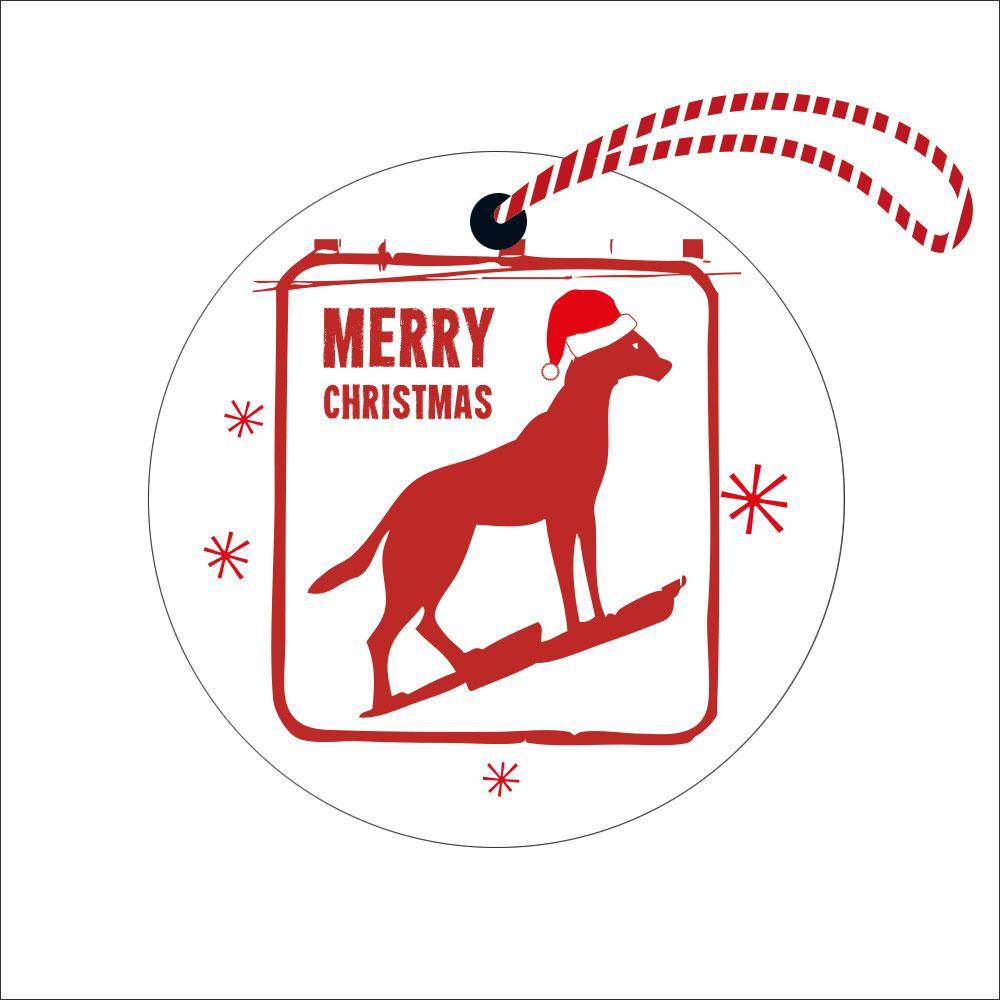 Christmas Dingo Decoration