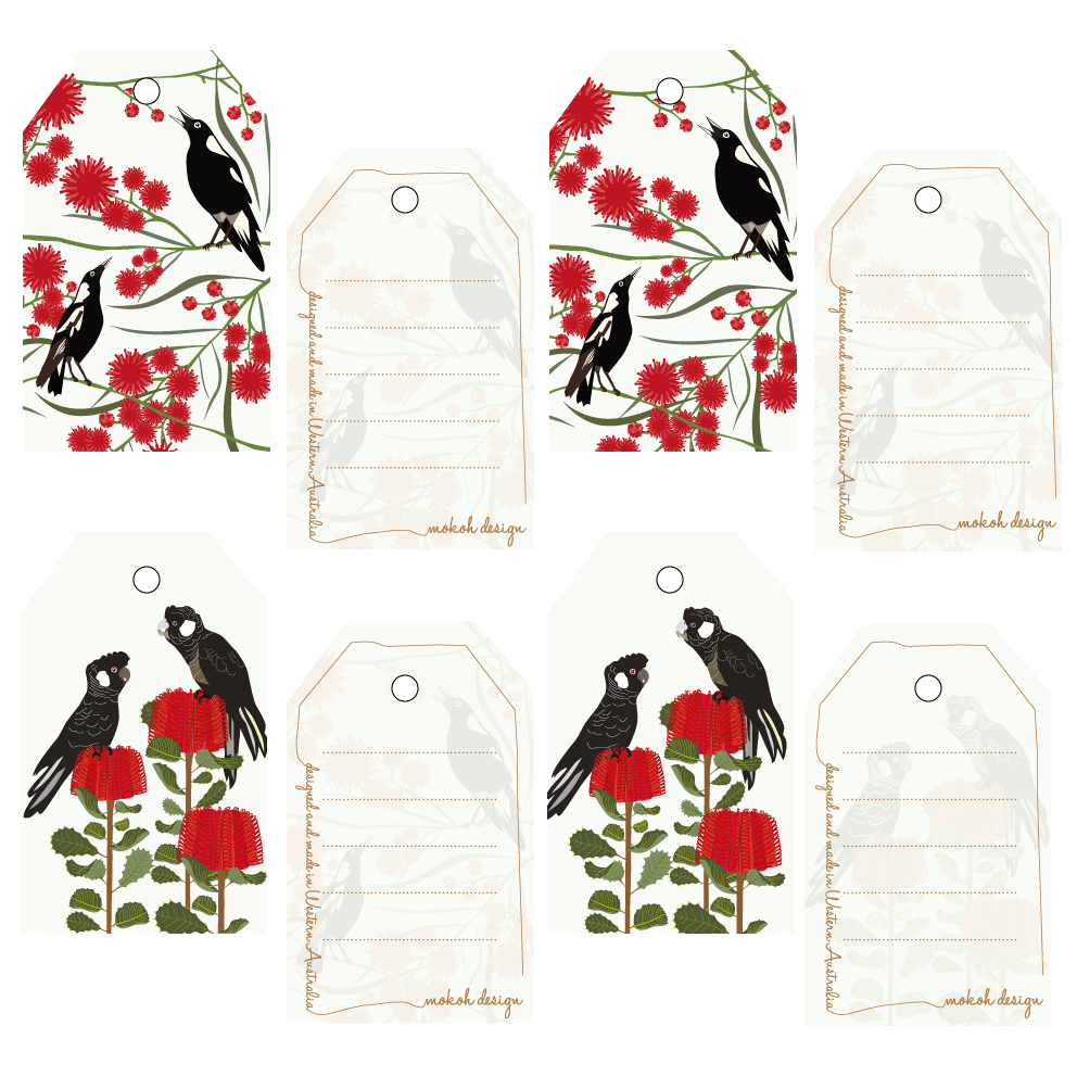 Carnaby Magpie 8 Tag Pack