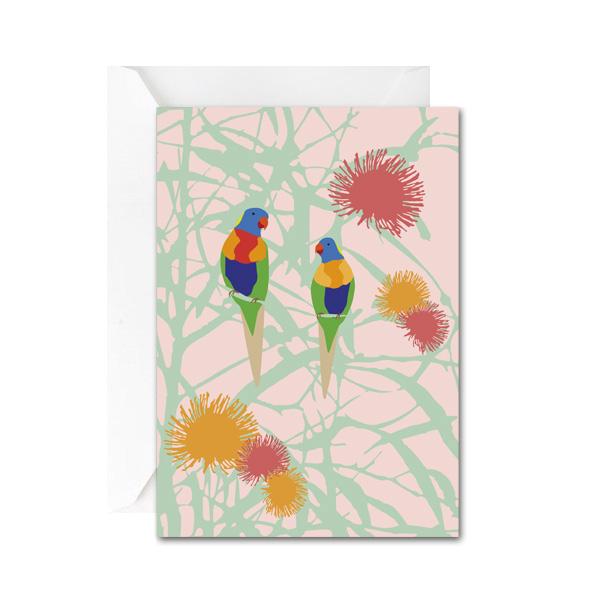 Lorikeet Love Mini Gift Card