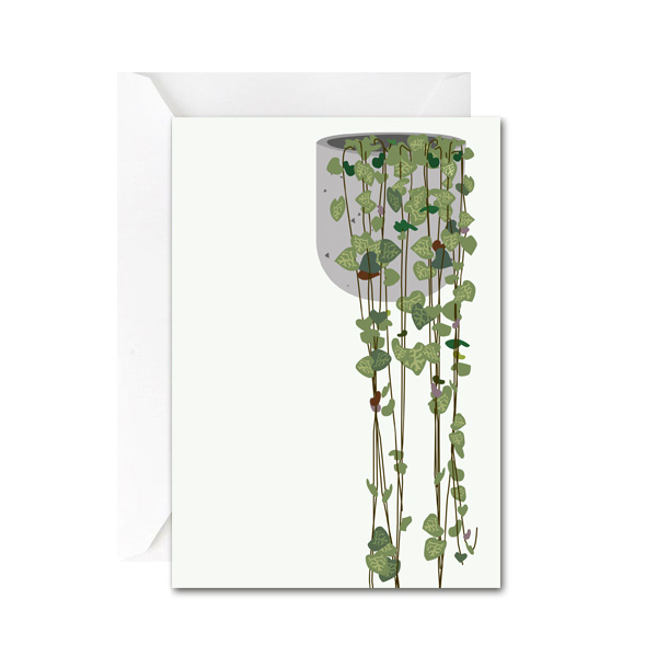 String of Hearts Mini Gift Card