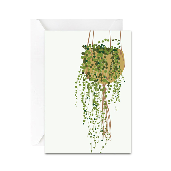 String of Pearls Mini Gift Card