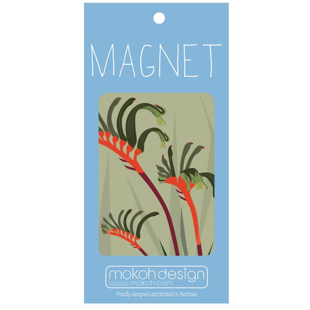 Botanicals Kangaroo Paw Magnet