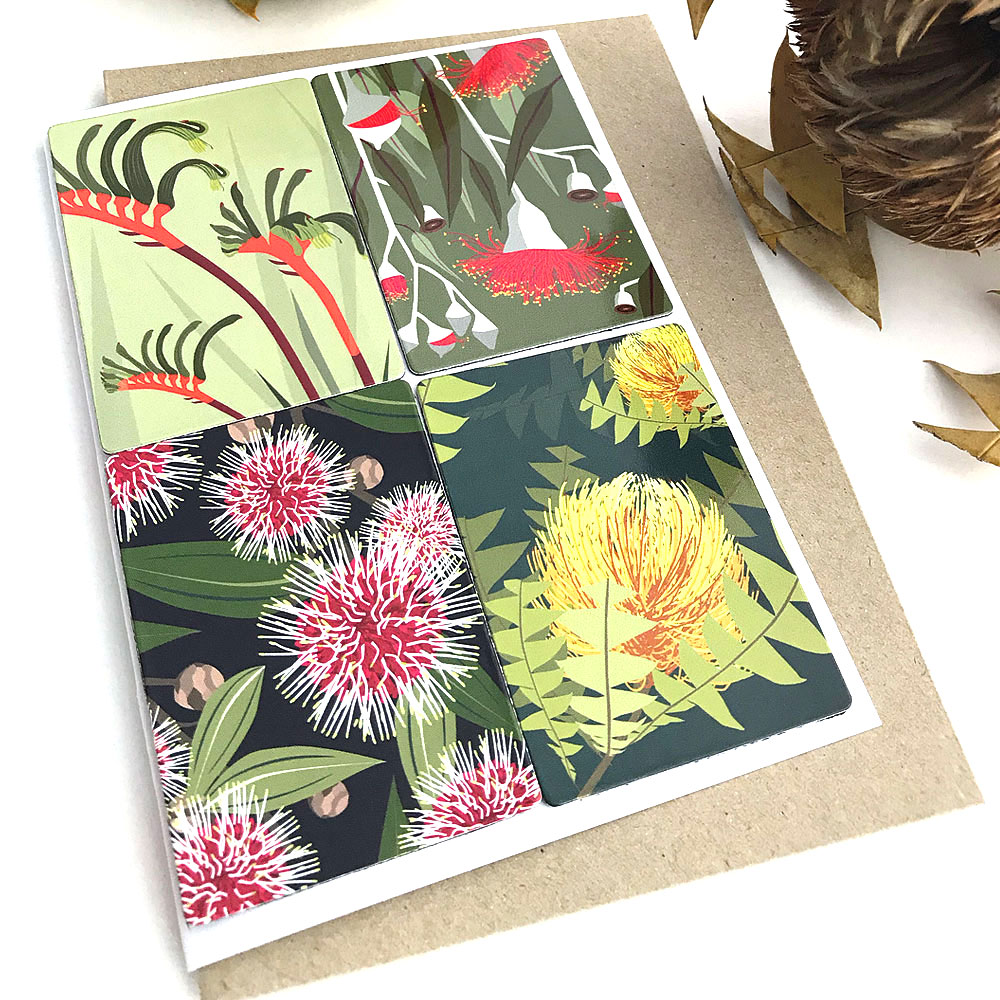 Botanicals Magnet Card
