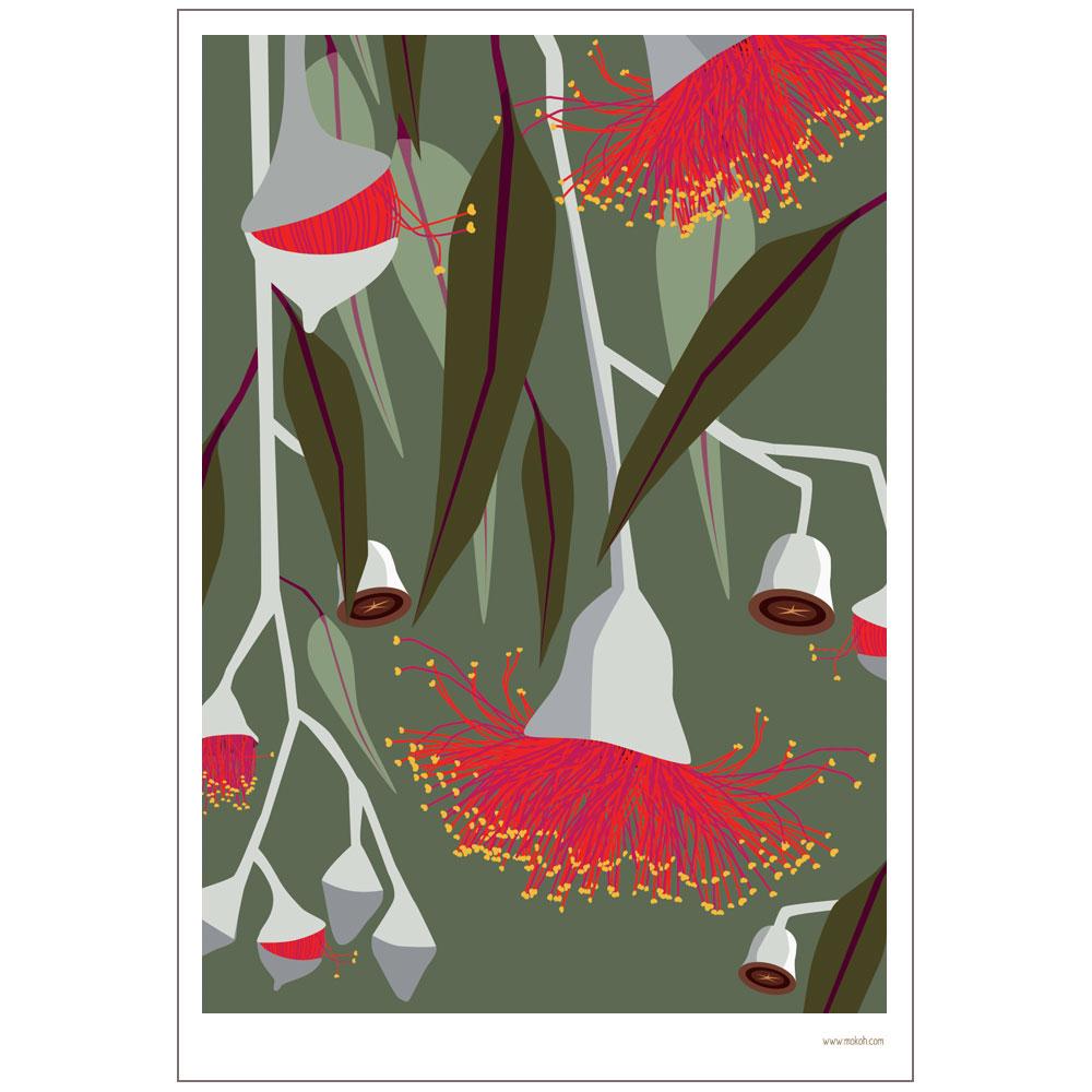 Botanicals Gum Print