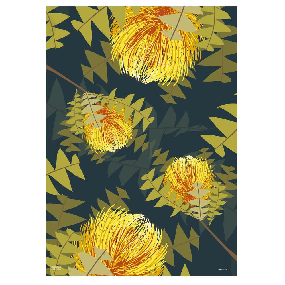 Botanicals Banksia Wrap