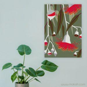 Mokoh Canvas Art Prints